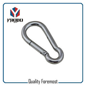 50mm Stainless Steel Carabiner Hook,stainless steel snap hook