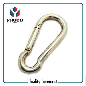 Supplier Stainless Steel Carabiner Hook,Stainless Steel Carabiner Hook