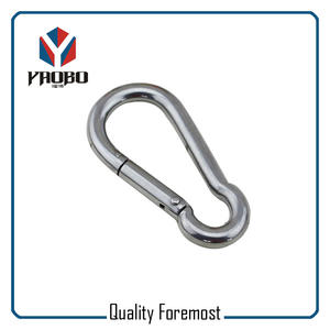 Manufacture Stainless Steel Carabiner Hook,Stainless Steel Carabiner Hook