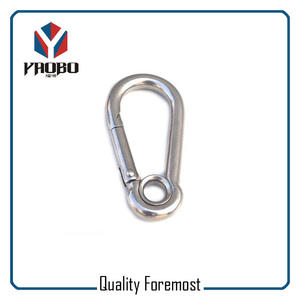 Stainless Steel Snap Hook Carabiner,stainless Steel Carabiner Hook