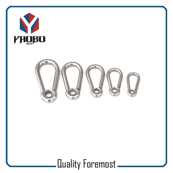 Stainless Steel Snap Hook Carabiner Hook