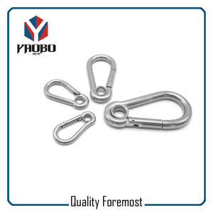 Stainless Steel Snap Hook With Hole,stainless Steel Carabiner Hook