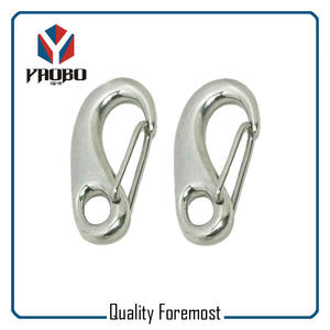 Egg Type Wire Gate Snap Hook
