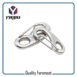stainless steel egg snap hook,Stainless Steel Oval Egg Snap Hook Bracelet