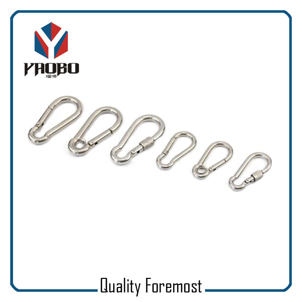 Stainless Steel Carabiner Hook For Climbing