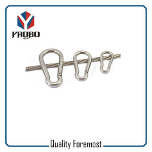 Wholesales Stainless Steel Carabiner Hook,Stainless Steel climb Hook