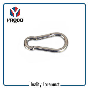 100mm Stainless Steel Climb Carabiner