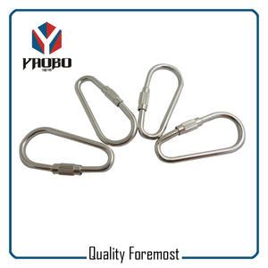 40mm Stainless Steel Carabiner Hooks