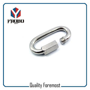 Manufacture Oval Stainless Steel Hooks