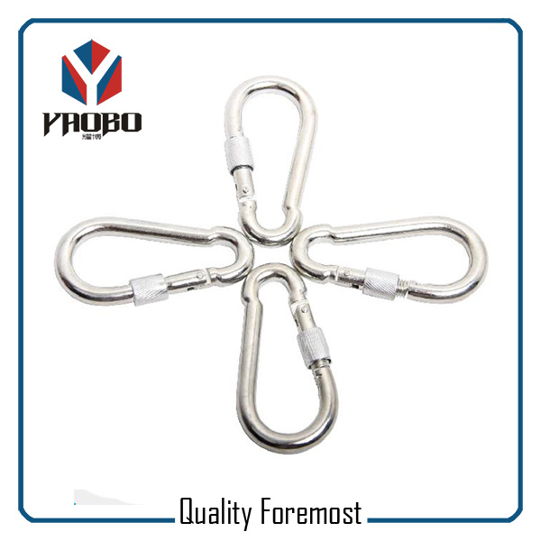 Stainless Steel Carabiner With Screw