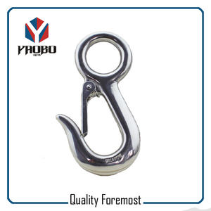 Stainless Steel 304 Eye Snap Hook,Stainless Steel Fixed Snap Hook