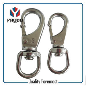 Wholesale Stainless Steel Snap Hook,stainless steel single snap hook