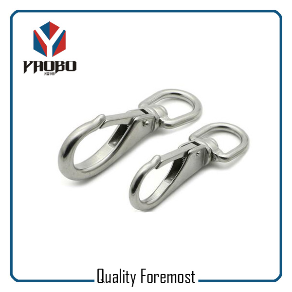Stainless Steel Rigging Swivel Bolt Snap Hook