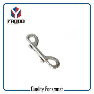 Double Snap Hook For Bag,Stainless Steel Double Snap Hook