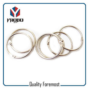 25mm Binder Rings,silver 25mm Binder Rings,metal 25mm Binder Rings