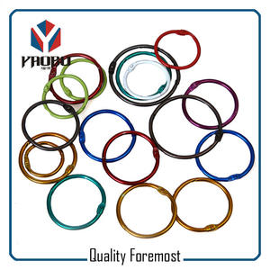 Iron Colored Binder Ring,Colored Binder Ring For color card