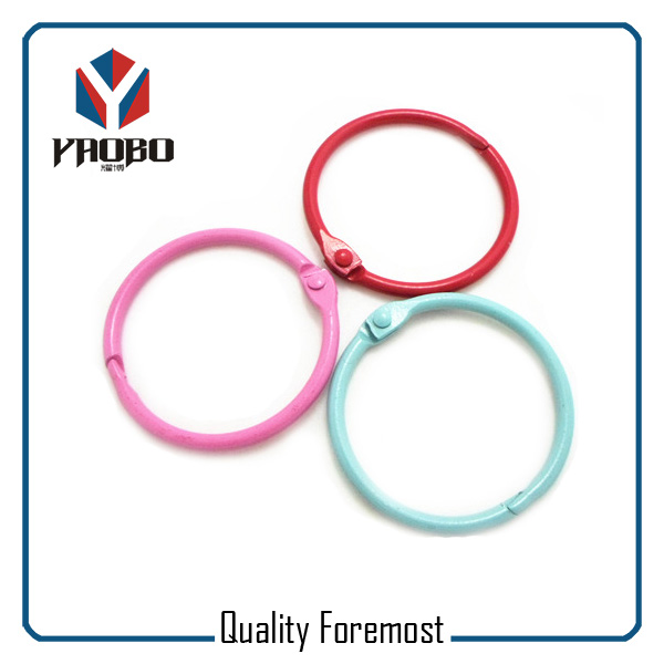 Colored Binder Ring Book Ring