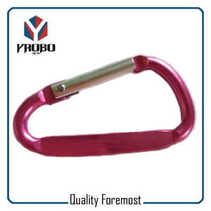 Carabiner For Key Ring,red carabiner,flat carabiner