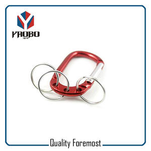 Carabiner Hooks With Split Ring