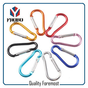 Wholesales 50mm Carabiner,Aluminum Carabiner For key