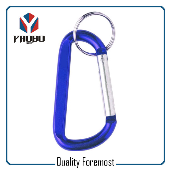 Carabiner Hook With Key Ring Supplier