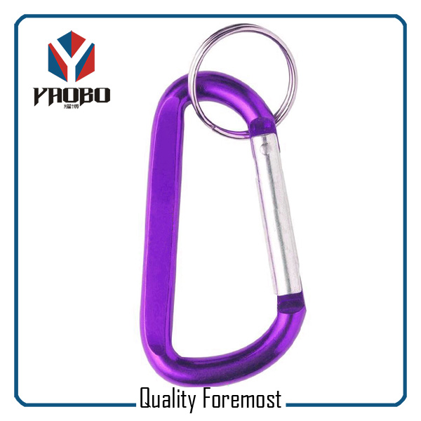 Carabiner Hook Split Key Ring