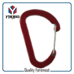 Wholesale Red Aluminum Carabiner,Aluminum Carabiner Hook