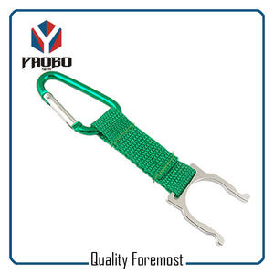Carabiner Hook With Lanyard