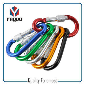 Colorfully Carabiner With Lock,Carabiner With Lock For Sale