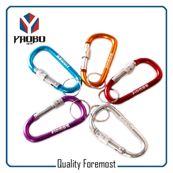 Carabiner Hook With Lock For Key