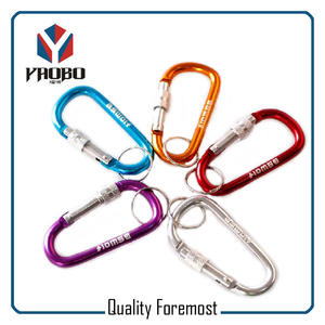 Carabiner Hook With Lock For Key,Carabiner With Lock For Key