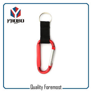 Custom Carabiner With Lanyard