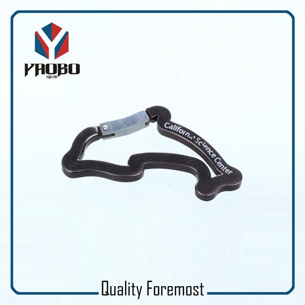 Dolphin Shape Carabiner Hook