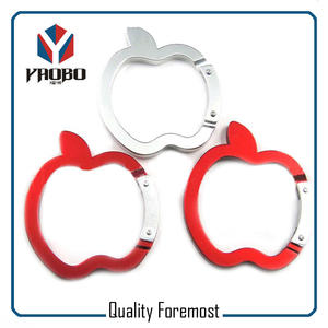 Apple Shape Carabiner Hook,Apple Carabiner Hook