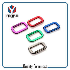 Rectangle Shape Carabiner,aluminum rectangel carabiner