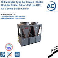 R22 Air Cooled Scroll Modualr Chiller/ 130 Modualr chiller/modular chiller