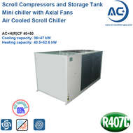Air Cooled Scroll Chiller R407C/air cooled water chiller