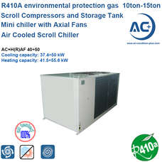Air Cooled Scroll Chiller R410A air cooled water chiller