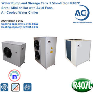 Air Cooled Water Chiller/ Mini Chiller R407C/air Cooled Scroll Chiller