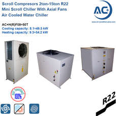 Air Cooled Water Chiller /Air cooled scroll water chiller R22