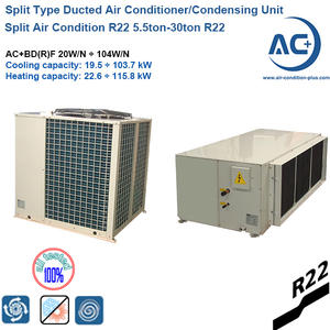 Split Air Condition 5.5ton-30ton R22 split type duct central air condition