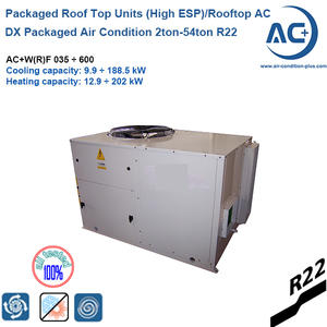 Packaged rooftop air condition