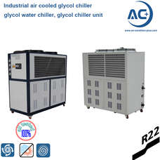 Industrial Air Cooled Glycol Chiller-industrial air chiller