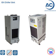 Oil cooling chiller unit air cooled oil chiller unit