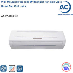 wall mounted fan coil units water chilled fan coil units