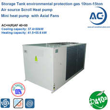Air source Scroll Heat pump 10ton-15ton R410a air source water heat pump