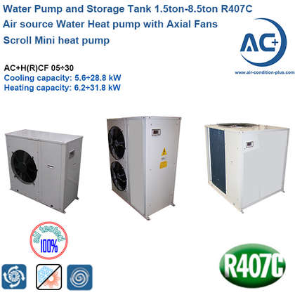 packaged air source heat pump