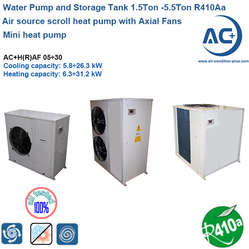 air to water chiller unit