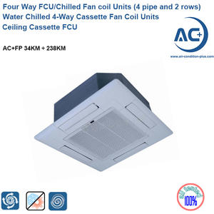 Water Chilled 4-way Cassette Fan Coil Units