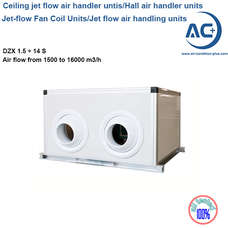 Jet-flow Fan Coil Units ceiling air handling units
